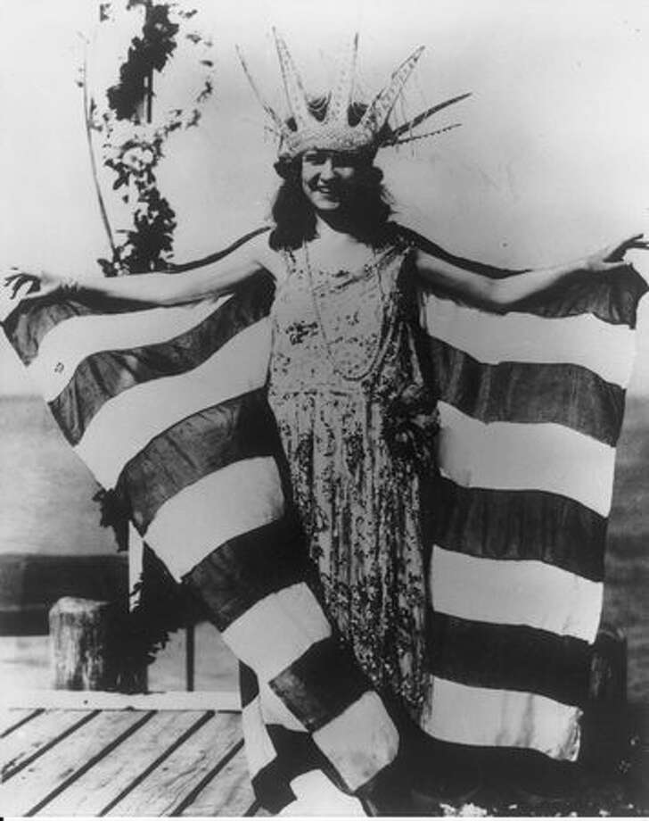 "1921: Margaret Gorman, District of Columbia. Gorman was just a junior in high school when she entered the ""Inter-City Beauty"" contest as part of the Atlantic City (N.J.) Pageant. Photo: Miss America Organization"