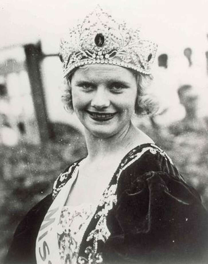 1933: Marian Bergeron, West Haven, Conn. Bergeron was just 15 when she won the crown after the pageant. The Great Depression and a series of minor controversies derailed the pageant for one year after this. Photo: Miss America Organization