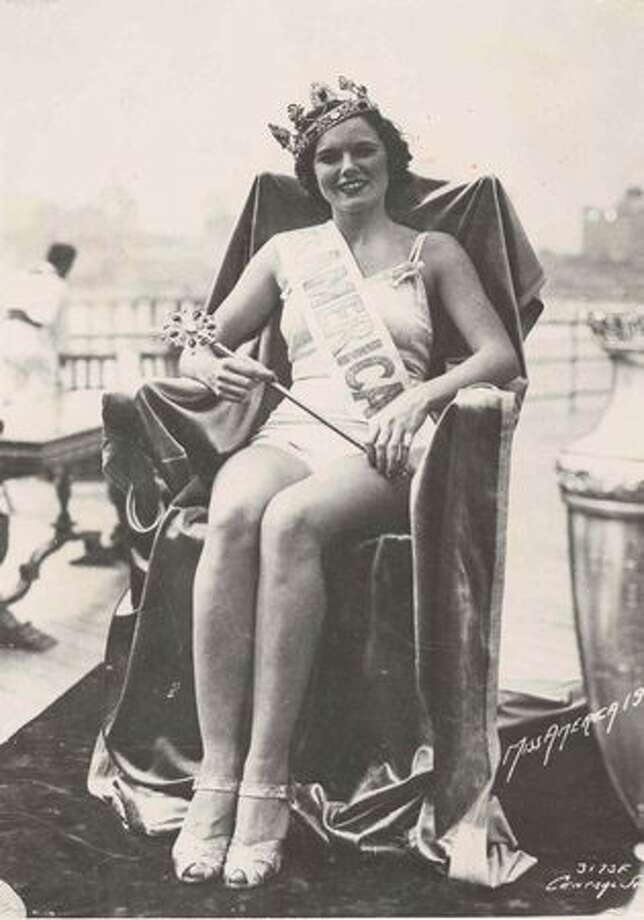 1936: Rose Coyle, Philadelphia. Photo: Miss America Organization
