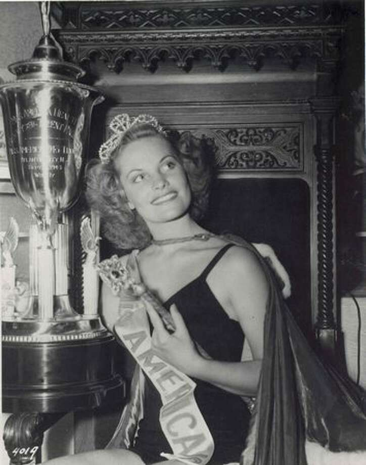 1943: Jean Bartel, Los Angeles. Bartel first championed the idea of awarding scholarships to Miss America winners, and went on to a long career in acting. Photo: Miss America Organization
