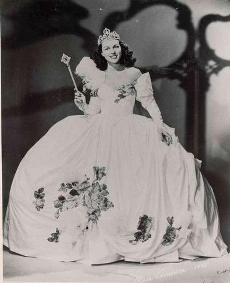 1945: Bess Myerson, New York, the first Jewish Miss America. Photo: Miss America Organization