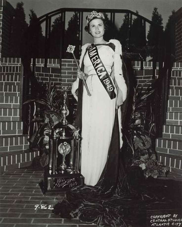 1949: Jacque Mercer, Litchfield, Ariz. Mercer was married briefly before her reign ended and later was instrumental in passing a rule that Miss America winners could no longer become married while holding the title. Photo: Miss America Organization