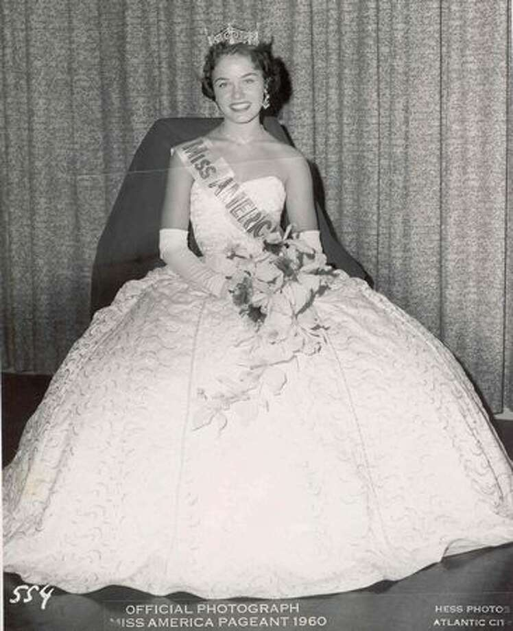 1961: Nancy Fleming, Montague, Mich. Married game show host Jim Lange after her reign. Photo: Miss America Organization