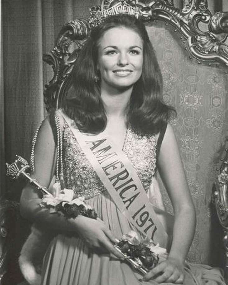 1971: Phyllis George, Denton, Texas. Became famous to a nation of football fans via a popular CBS pregame show. Photo: Miss America Organization
