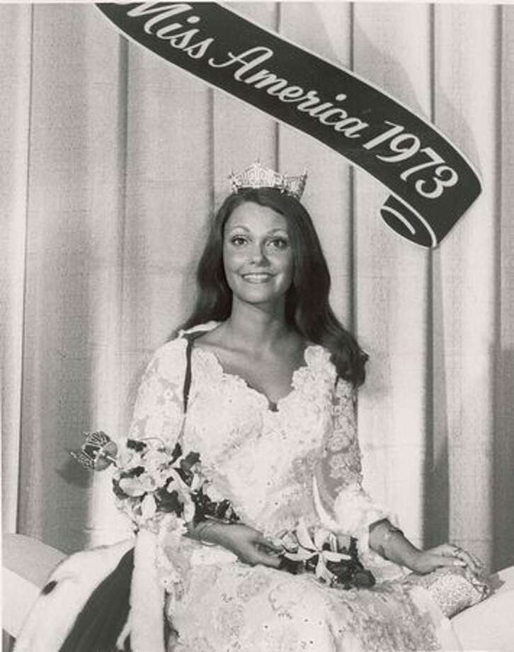 "1973: Terry Meeuwsen, DePere, Wis. Later became Pat Robertson's co-host on ""The 700 Club."" Photo: Miss America Organization"