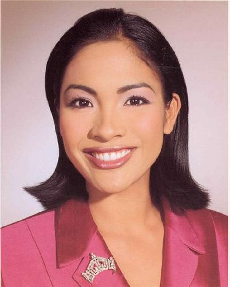 2001: Angela Perez Baraquio Grey, Honolulu, first Asian-American Miss America. Photo: Miss America Organization