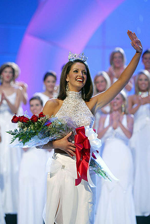2005: Deidre Downs, Birmingham, Ala. Hers was the last pageant to be shown on a major TV network; poor ratings relegated it to cable thereafter, and the pageant moved from Atlantic City, N.J., to Las Vegas; from September to January; and from ABC to cable networks CMT, and then to TLC from 2008. Photo: Miss America Organization