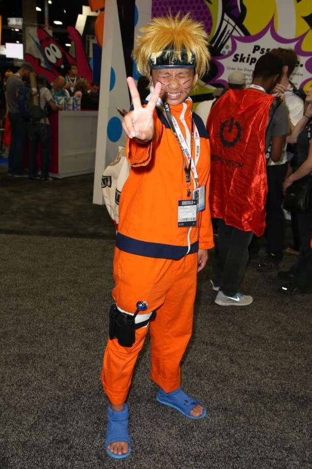A fan attends day 1 of Comic-Con International on July 17, 2013 in San Diego, California.  (Photo by Chelsea Lauren/FilmMagic)