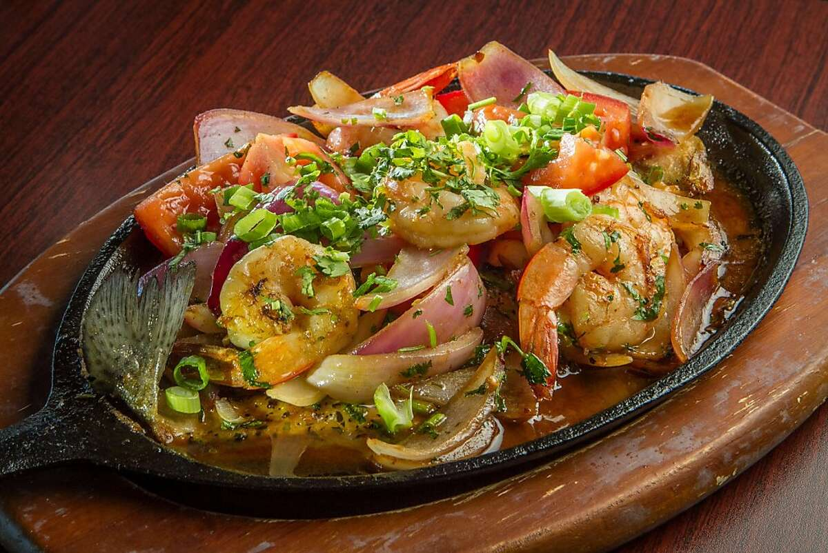 The skillet roasted Trout at Puerto 27 in Pacifica, Calif., is seen on Saturday, July 13th, 2013.
