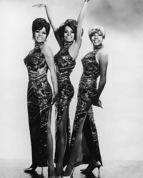 Diana Ross and the Supremes in the late 1960s (from left to right): Cindy Birdsong, Diana Ross, and Mary Wilson. Photo: Frank Driggs Collection, Getty Images