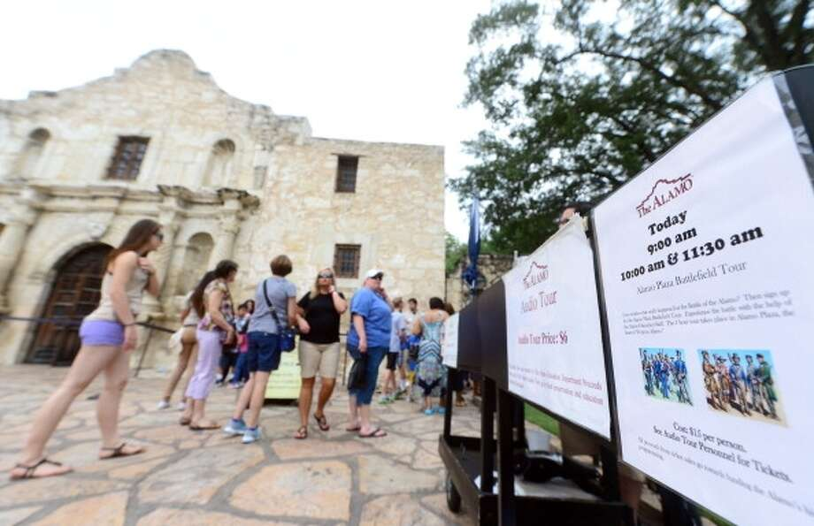 "Remember the Alamo: Visit the site of one ""Pee-Wee"" movie and various other historical events."