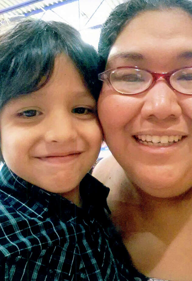 Photo of Judas Gutierrez, 4, with his mother, Christina. He died from complications of near drowning. His body was found in the water at Jacob's Creek Park at Canyon Lake Sunday July 14, 2013.