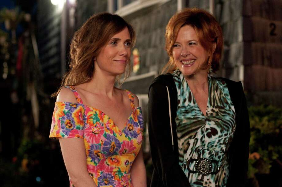 Kristen Wiig (left) and Annette Bening (right) star in GIRL MOST LIKELY  Photo credit: Nicole Rivelli Photo: Nicole Rivelli