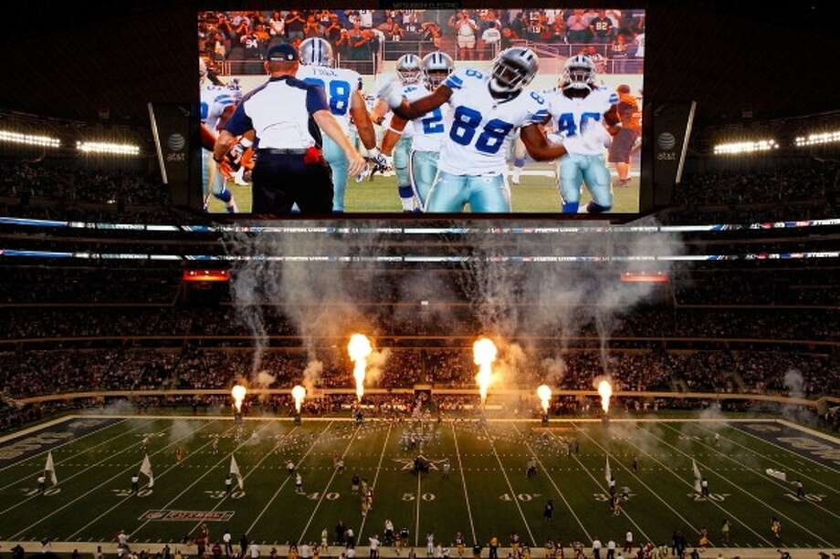 Watch a game on the Cowboys Stadium big screen: It's kind of like your Times Square jumbo screen, except bigger and it gets all the Cowboys games.