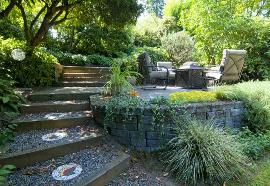 Yard of 1529 N.E. 90th St., in Maple Leaf. It's listed for $650,000. Photo: Courtesy Joie Gowan, Windermere Real Estate