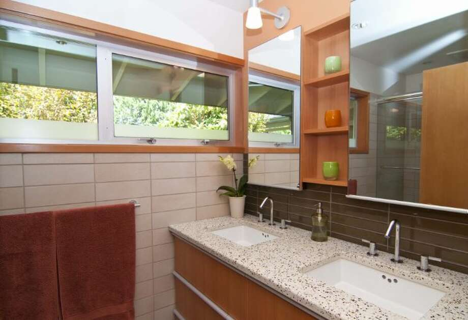 Bathroom of 1529 N.E. 90th St., in Maple Leaf. It's listed for $650,000. Photo: Courtesy Joie Gowan, Windermere Real Estate