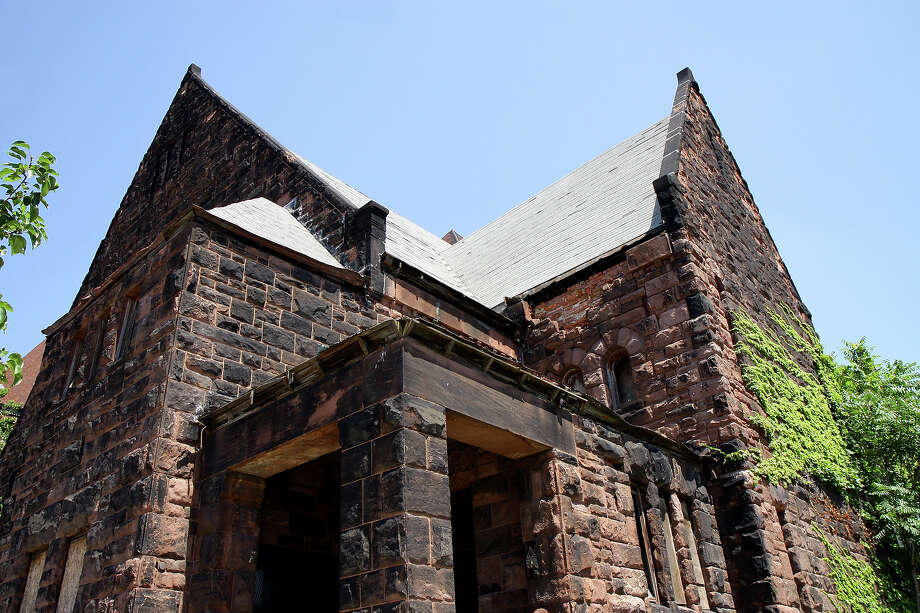 The abandoned First Unitarian Church, in Detroit, Michigan on July 21, 2012. Photo: Raymond Boyd, Getty Images / 2012 Raymond Boyd