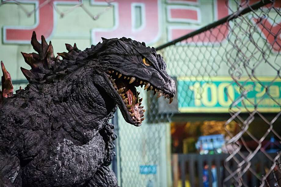 Godzilla invades Comic-Con International 2013 at San Diego Convention Center on July 17, 2013 in San Diego, California.