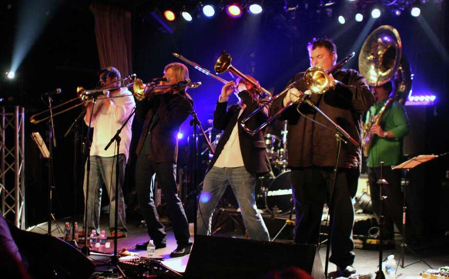New Orleans brass band, Bonerama, will perform Aug. 1 at Fairfield Theatre Co. Photo: Contributed Photo / Fairfield Citizen contributed