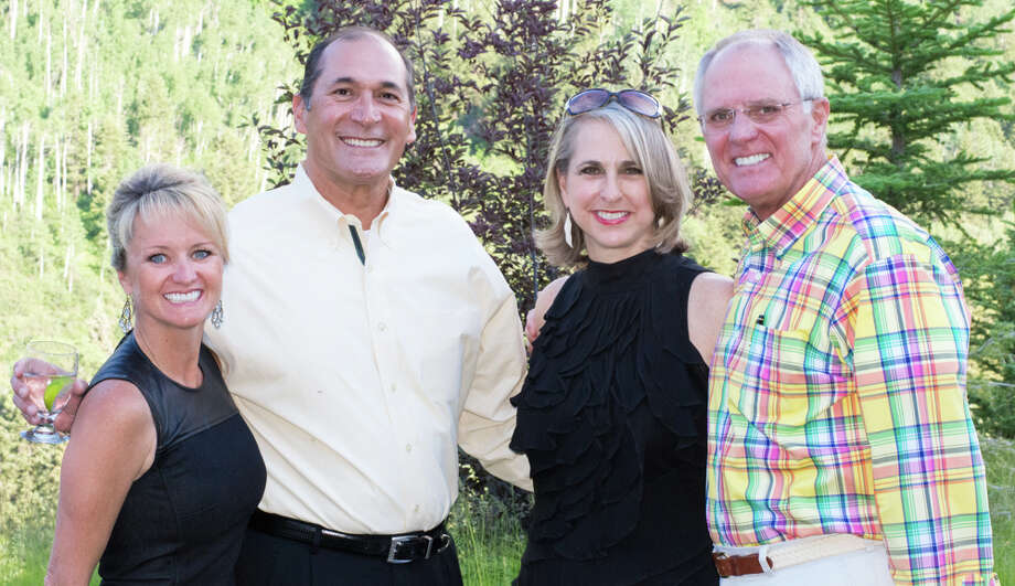 Kelly Larkin, from the left, Fernando Parra, and Susan and Dick Hansen