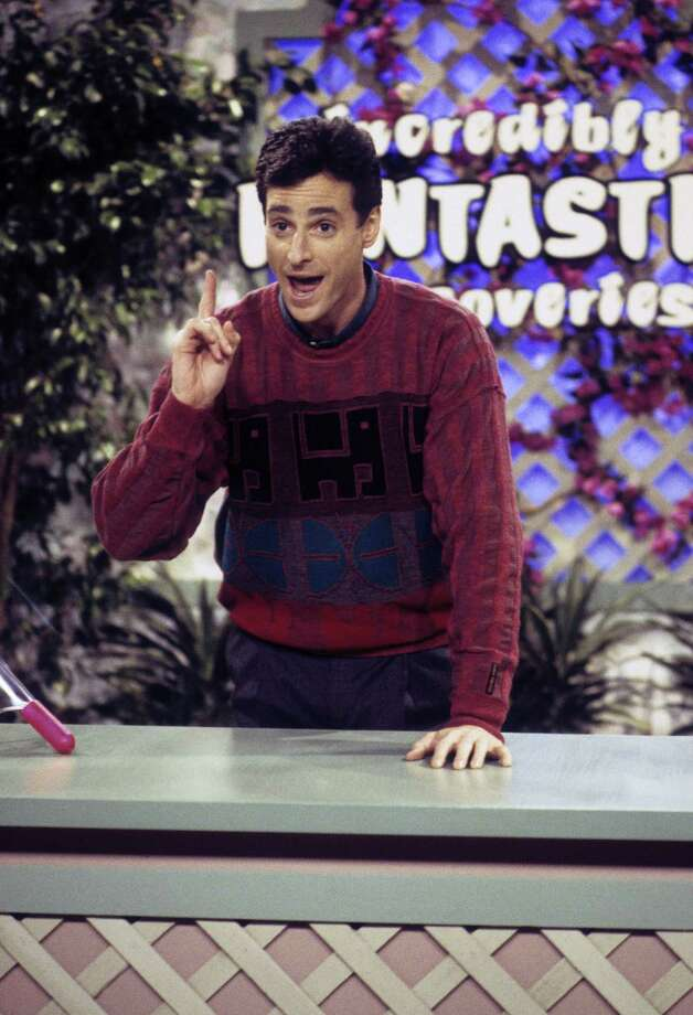 """Bob Saget played the squeaky-clean Danny Tanner who invites is brother-in-law and best friend to live with him and help take care of his three daughters after his wife dies. Around the same time he starred in """"Full House,"""" he also was host of """"America's Funniest Home Videos."""" Photo: ABC Photo Archives, Getty / 2010 American Broadcasting Companies, Inc."""