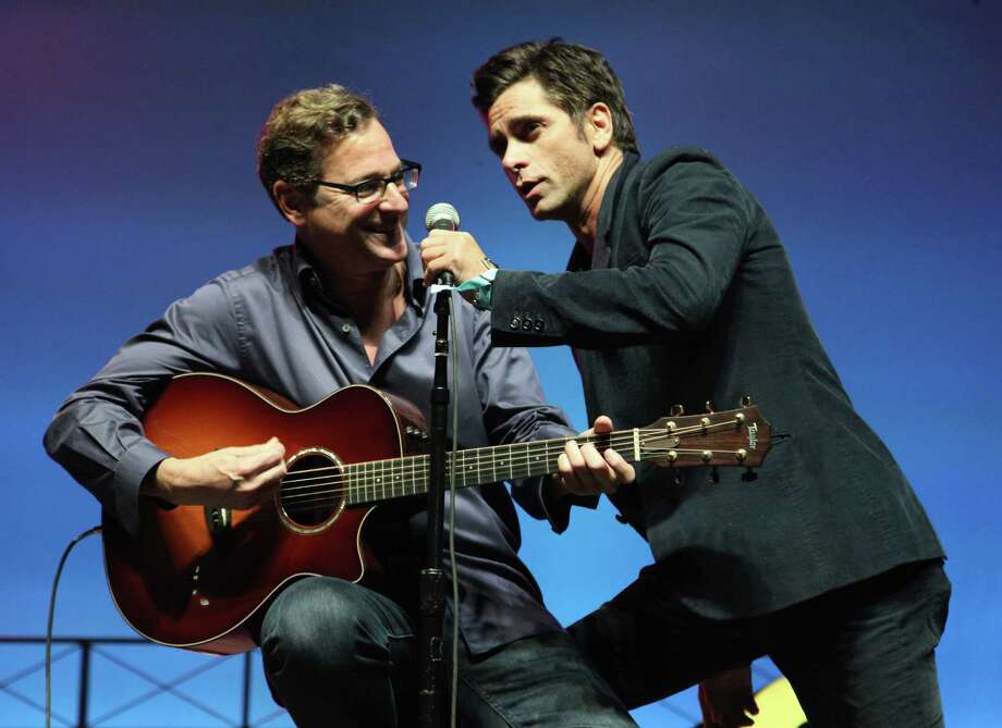 "The ""Full House"" crew, or at least some of its alumni, can still be seen together occasionally. Last month  Bob Saget and John Stamos performed onstage at the Comedy Theatre during the 2013 Bonnaroo Music & Arts Festival in Tennessee. Photo: FilmMagic / 2013 FilmMagic"