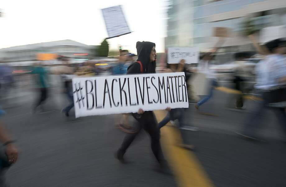 Beverly Hills protest of the verdict. Photo: Robyn Beck, AFP/Getty Images