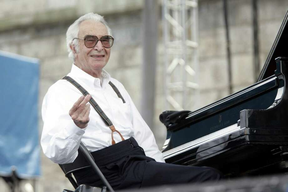 FILE -- Dave Brubeck performing at the Newport Jazz Festival in Newport, R.I., in 2004. Brubeck, a pianist and composer whose distinctive mixture of experimentation and accessibility made him one of the most popular jazz musicians of the 1950s and ?60s, died Wednesday, Dec. 5, 2012, in Norwalk, Conn. He would have turned 92 on Thursday. (Michael Lutch/The New York Times) Photo: MICHAEL LUTCH / NYTNS