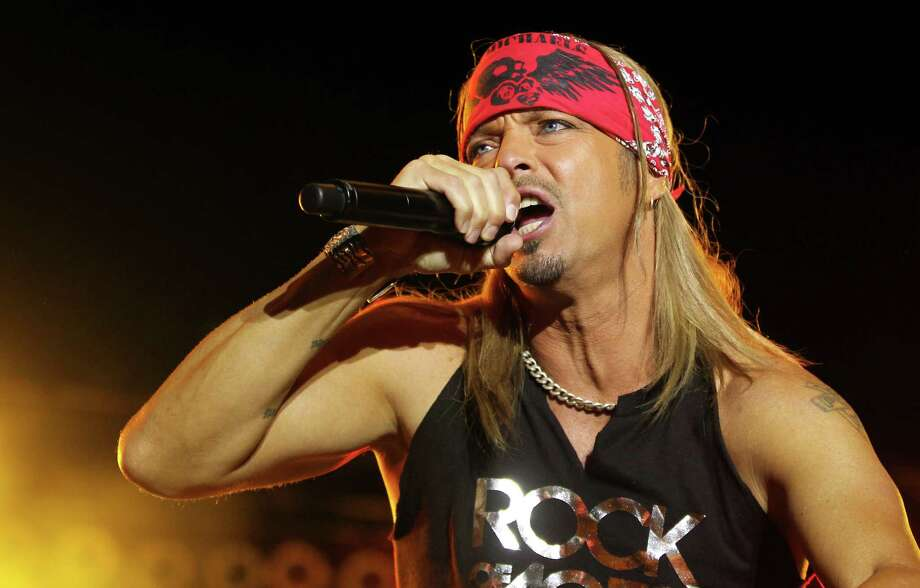 "Bret Michaels performs with the band Poison at the after party for the ""Rock of Ages"" premiere on Friday June 8, 2012, in Los Angeles. (Photo by Matt Sayles/Invision/AP) Photo: Matt Sayles / 2012 Invision"