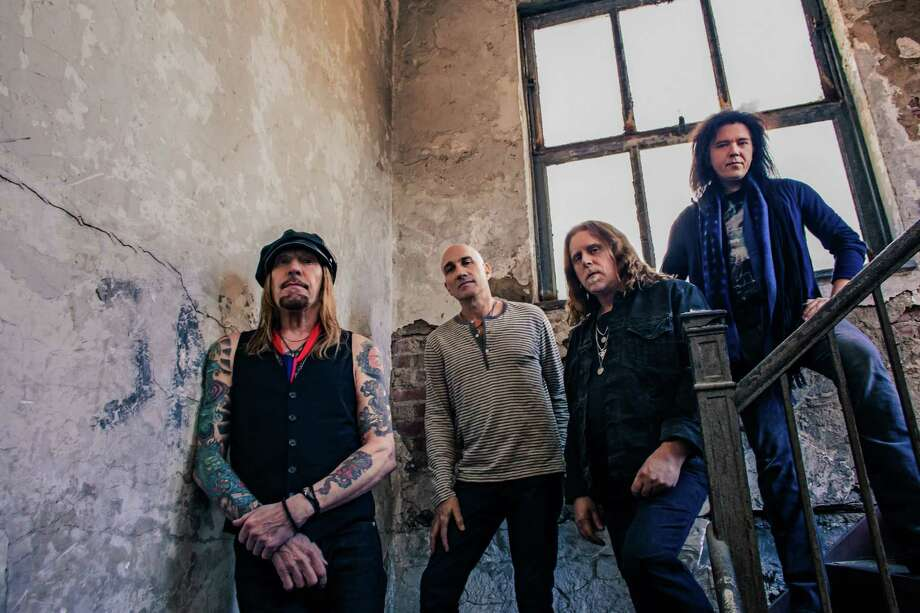 Warren Haynes, second from right, and Gov't Mule will perform Saturday, July 27, at the Gathering of the Vibes at Bridgeport's Seaside Park. Photo: Contributed Photo / Connecticut Post Contributed