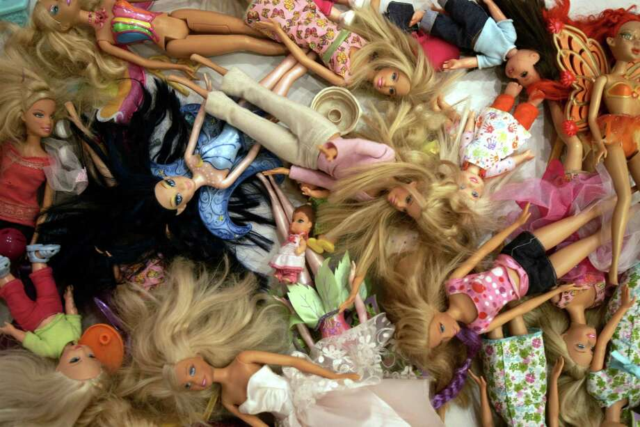 Barbie dolls are suddenly facing a popularity contest with Mattel's Monster High dolls. Photo: Natacha Pisarenko, STF / AP