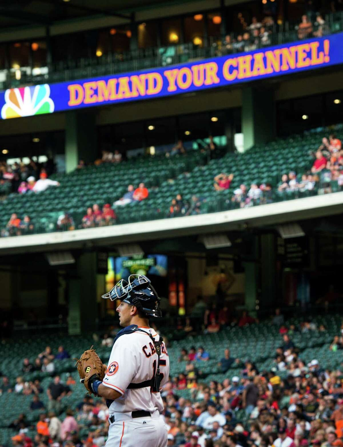 The Astros have become an afterthought to many fans, with their TV games drawing an average audience of about 10,000 households.