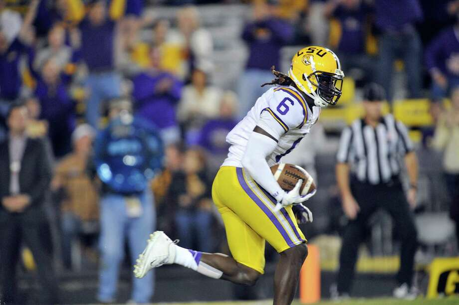 LSU senior safety Craig Loston started 12 games last season and notched three interceptions. In a win against A&M, he tallied a career-high nine tackles. Photo: Collegiate Images / Getty Images