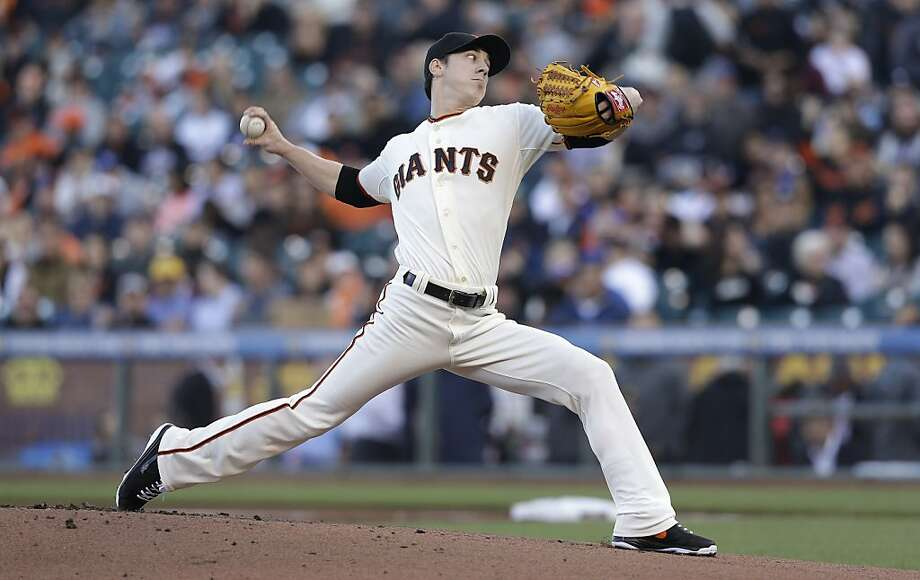 Tim Lincecum owns a 3.16 ERA in his past eight starts. He will pitch Monday against the Reds. Photo: Jeff Chiu, Associated Press