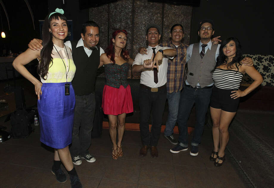 The members of Las Cafeteras appeared at Club Rio. The group began life as a collective of students and activists Photo: Photos By Kin Man Hui / San Antonio Express-News