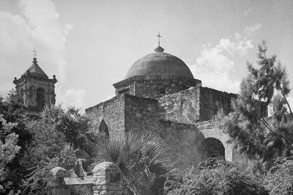 Mission San José on Dec. 31, 1944.