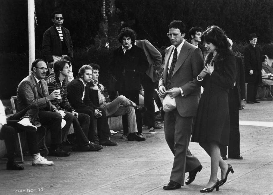 """The Conversation"" begins with a young couple walking through S.F.'s Union Square Photo: Photo Courtesy American Zoetrope"