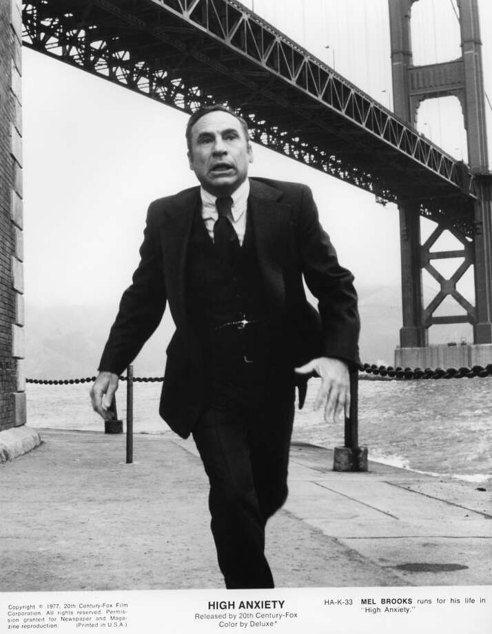 Mel Brooks' 'High Anxiety' was filmed in locations like the Embarcadero and the Hyatt Regency. Photo: Michael Ochs Archives, Getty Images