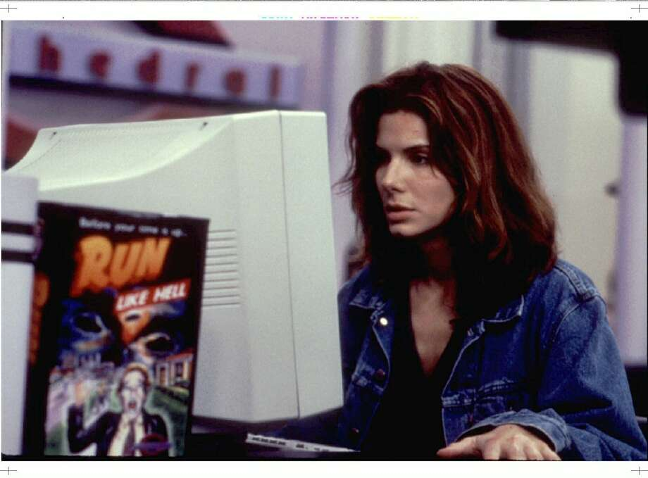 Sandra Bullock's 'The Net.' Photo: HO-COLUMBIA PICTURES, REUTERS