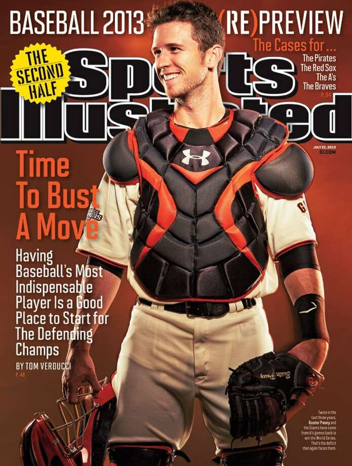Buster Posey appears on a regional cover of the July 22 issue of Sports Illustrated.