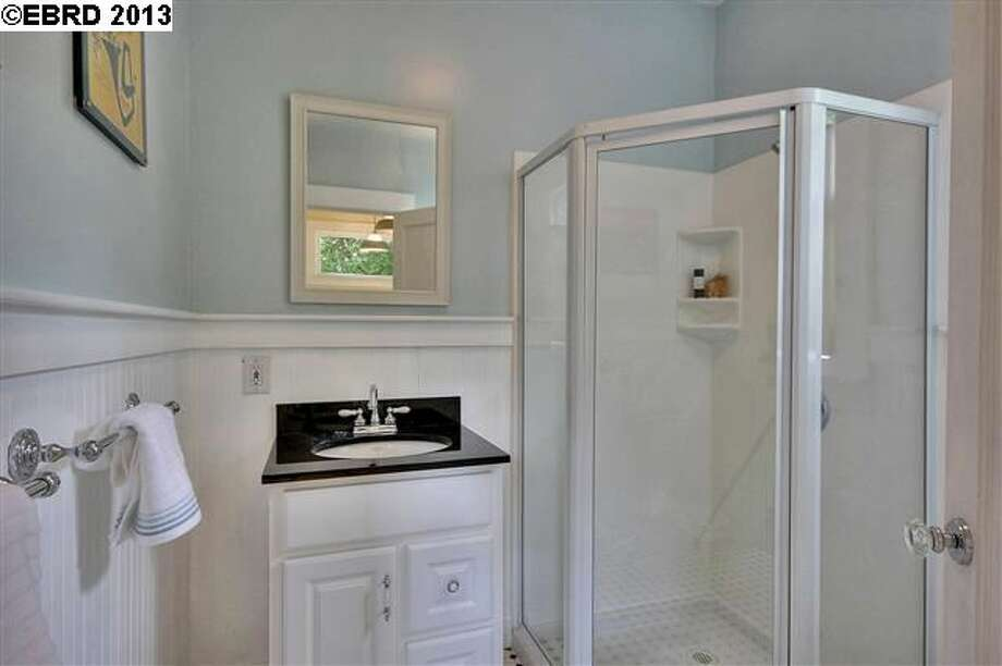 One of two bathrooms.