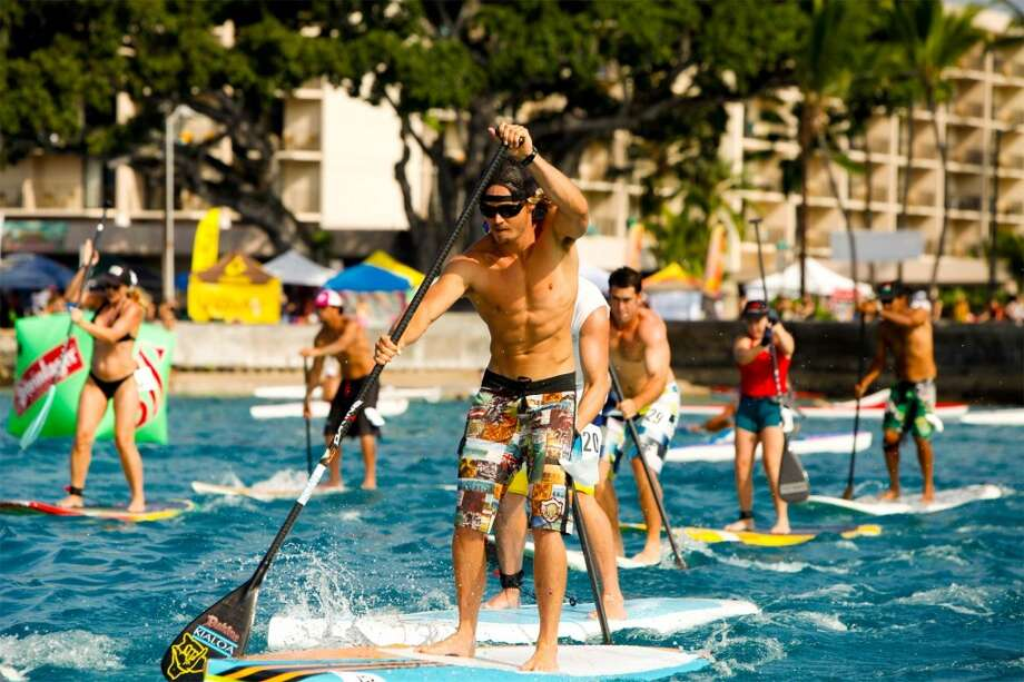 Among the events over the Labor Day weekend are stand-up paddle races of 3.5 and 4 miles on Sunday.