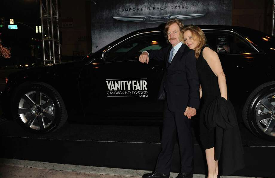 HOLLYWOOD, CA - FEBRUARY 23:  Actors William H. Macy (L) and Felicity Huffman attend the Vanity Fair and Chrysler celebration of The Eva Longoria Foundation hosted by Eva Longoria on Thursday, February 23 at Beso Hollywood. Photo: Craig Barritt, Getty Images For VF / 2012 Getty Images