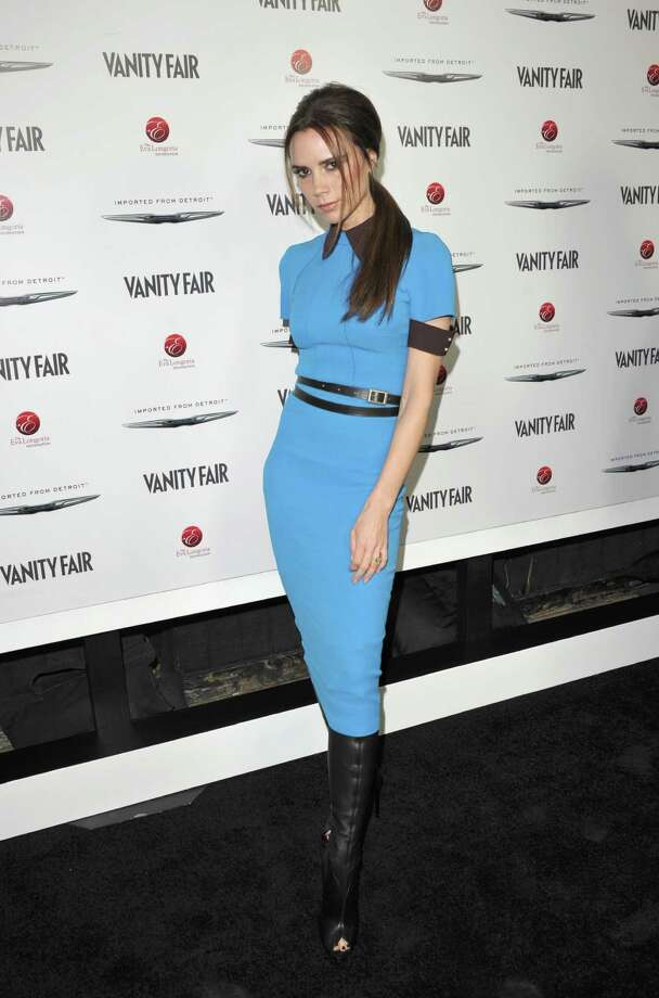 HOLLYWOOD, CA - FEBRUARY 23:  Designer Victoria Beckham attends the Vanity Fair and Chrysler celebration of The Eva Longoria Foundation hosted by Eva Longoria on Thursday, February 23 at Beso Hollywood. Photo: John Shearer, Getty Images For VF / 2012 Getty Images