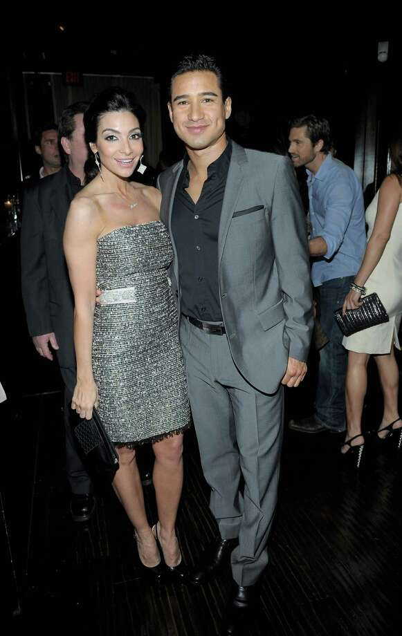 HOLLYWOOD, CA - FEBRUARY 23:  Courtney Mazza (L) and TV Personality Mario Lopez attend the Vanity Fair and Chrysler celebration of The Eva Longoria Foundation hosted by Eva Longoria on Thursday, February 23 at Beso Hollywood. Photo: Charley Gallay, Getty Images For VF / 2012 Getty Images