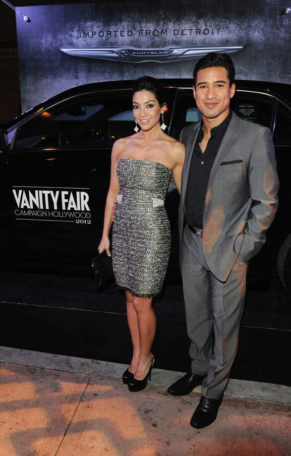 HOLLYWOOD, CA - FEBRUARY 23:  Courtney Mazza (L) and TV Personality Mario Lopez attend the Vanity Fair and Chrysler celebration of The Eva Longoria Foundation hosted by Eva Longoria on Thursday, February 23 at Beso Hollywood. Photo: Craig Barritt, Getty Images For VF / 2012 Getty Images