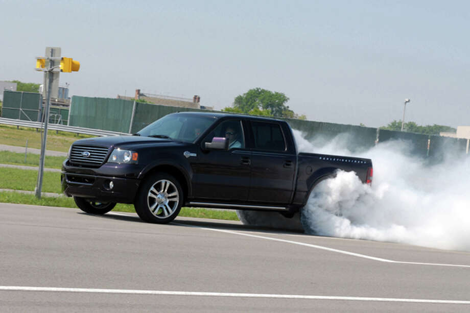 2007 Ford Harley-Davidson F-150: Ford introduces a supercharged F-150 Harley-Davidson edition truck. (09/27/2007) Photo: Ford, Wieck / © 2007 Ford Motor Company