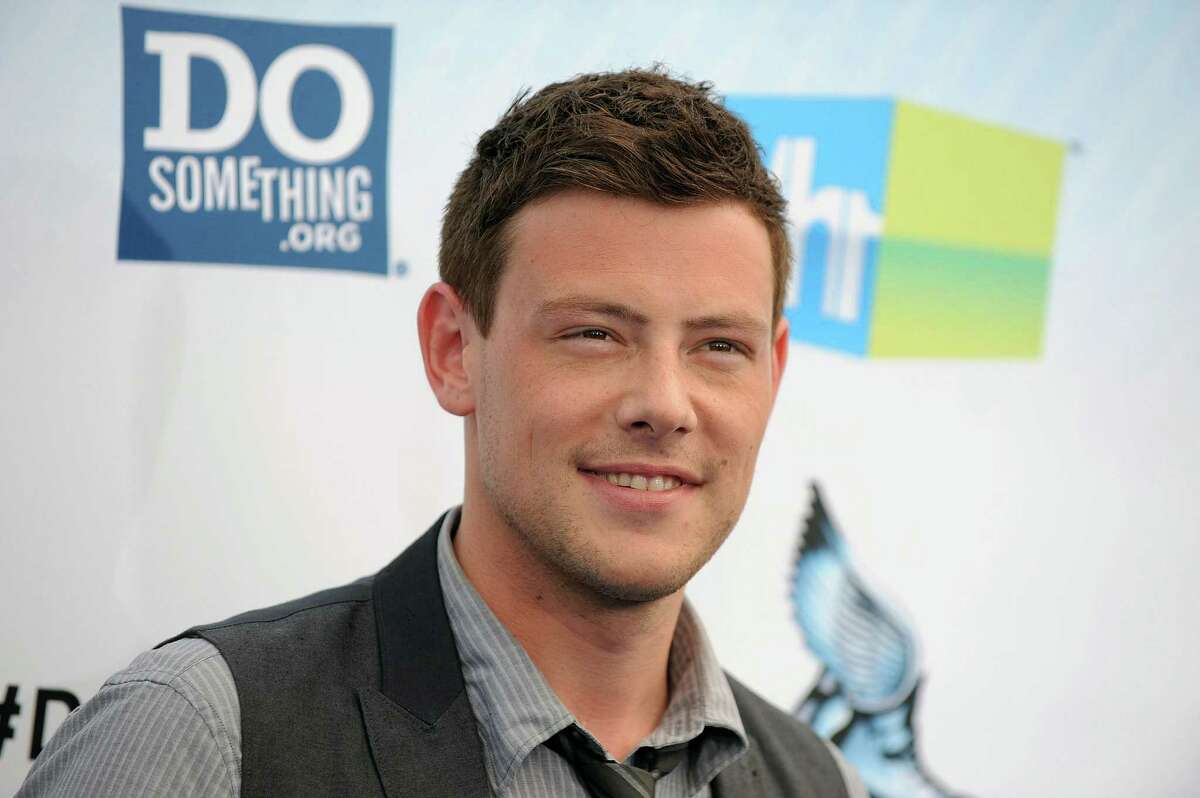 Cory Monteith (left). age 31The