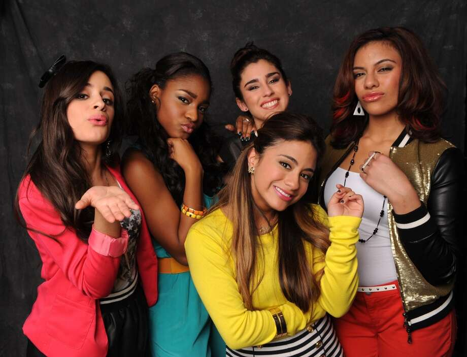 THE X FACTOR: Fifth Harmony. Ally Brooke's in yellow.