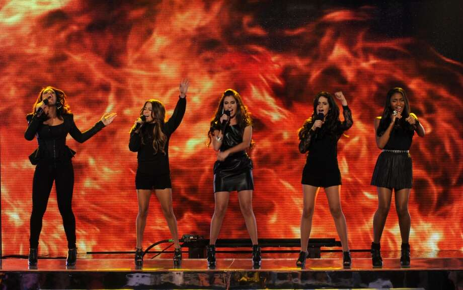 Fifth Harmony performs 'Stronger.'